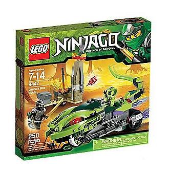 LEGO Ninjago Ninjago Ninjago Lasha's Bite Cycle (9447) NEW d48ea0