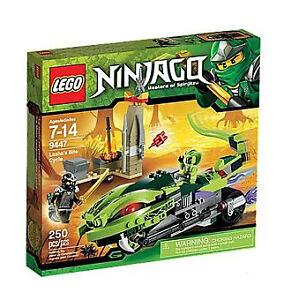 LEGO Ninjago Lasha's Bite Cycle (9447)