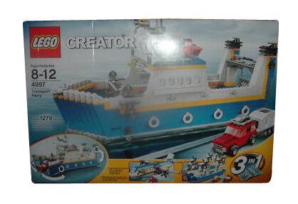 LEGO Creator Harbor 4997 transport Ferry neuf scellé