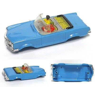 1960s Faller MERCEDES 230 CoNvErTiBlE Slot Car BODY A++