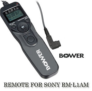 BOWER-LCD-Timer-Remote-for-SONY-RM-L1AM-A230-A390-A500