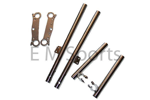 Mini Pocket Bike Clamp Forks Handle Bar 47cc 49cc Cags Mx3 Gp-RSR Mta1 Mta2 Mta3