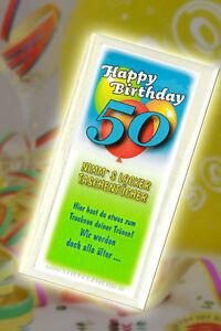 Elegant ... Nimm S Locker Taschentuecher Zum 50 Geburtstag LUSTIG