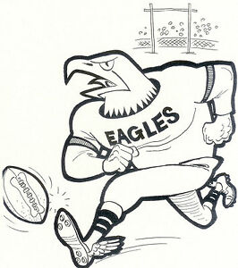 football mascot coloring pages - photo#40