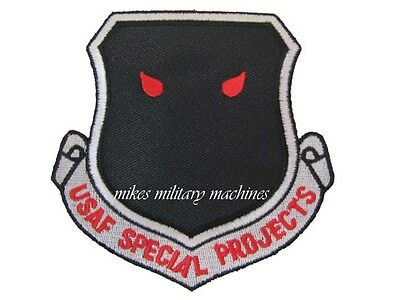 BLACK OPS AREA 51 USAF INTELLIGENCE SPECIAL PROJECTS NRO A DIVISION PATCH NEW