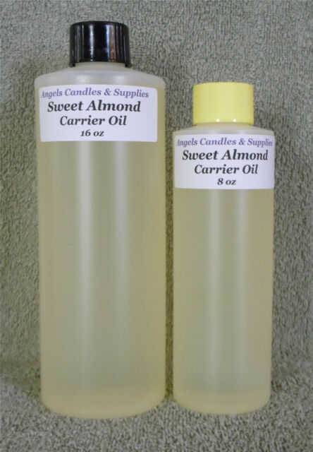100% PURE SWEET ALMOND CARRIER OIL SAMPLE - GALLON  FOOD GRADE FOR SOAP MAKING