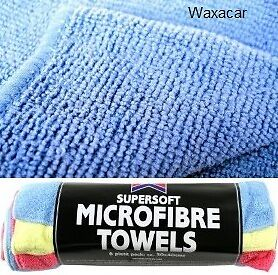24-x-Absorbent-Microfibre-Car-amp-Home-Cleaning-Polish-Wash-amp-Valet-Towel-Cloth