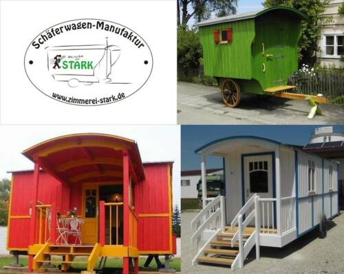 Schäferwagen, Zirkuswagen, Wohnwagen, Waldkindergarten, Gartenhaus, Ferienhaus