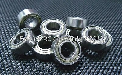 "(25 PCS) (R188ZZ) (1/4""x 1/2""x 3/16"") Double Metal Shielded Ball Bearing R188"