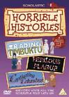 Horrible Histories - Rotten Romans / Captivating Columbus / Challenging China (DVD, 2006)
