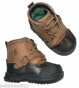 Polo Ralph Lauren Infant Baby Crib Shoes Tavin Boots Ebay