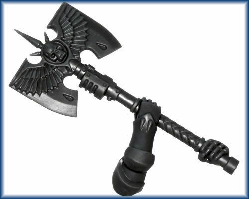 Blood Angels Sanguinary Guard Glaive Encarmine Two Headed AXE