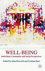 Well-Being: Individual, Community and Social Perspectives by Palgrave Macmillan (Paperback, 2007)