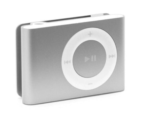 apple ipod shuffle 2nd generation silver 2 gb ebay. Black Bedroom Furniture Sets. Home Design Ideas