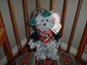 Aurora A&A Mortimer Mouse Stuffed Plush Soft N Cuddly 11 Inch All Tags 09124