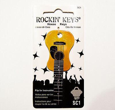 Acoustic Guitar House Key Blank SC1 Schlage
