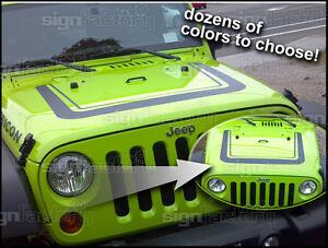Jeep Wrangler Decal Graphic - Jeep hood decalsgraphics for jeep wrangler hood decals and graphics www