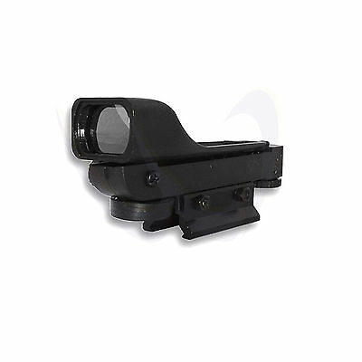 NcStar Airsoft Tactical Red Dot Reflex Sight Scope LED Weaver Base DP 12302