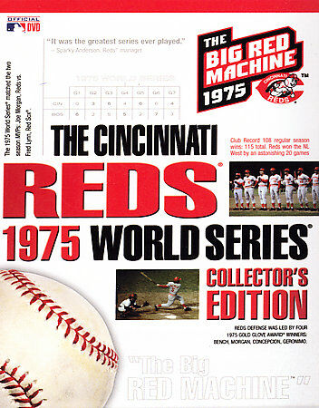 The Cincinnati Reds 1975 World Series Collector's Edition (DVD, 2006, 7-Disc Set