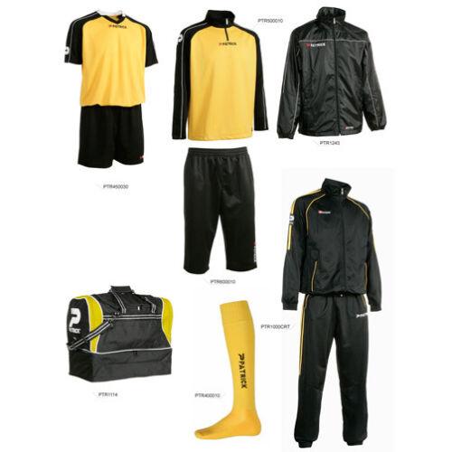 SILVER-Sport-Kit Patrick 7-teiliges Set schwarz//gelb,Gr.L,XL ohneTrainingsanzug
