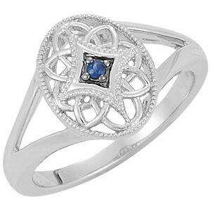 Sapphire-Sterling-Silver-Filigree-Fashion-Ring-Available-in-sizes-5-6-7-8