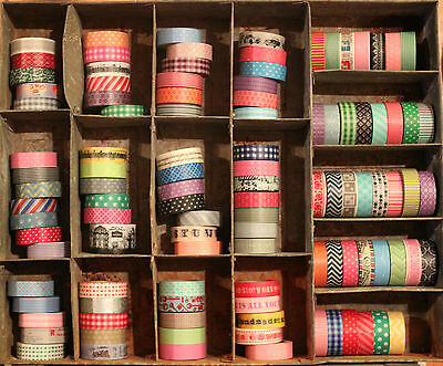 Washi Tape~Choose your Pattern~100+ Patterns~Stripe, dots, check, chevron