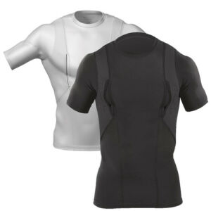 5-11-Tactical-S-S-Holster-Shirt-with-Tactical-Pocket-White-Black-All-Sizes-4011