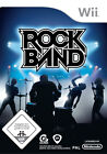 Rock Band (Nintendo Wii, 2008, DVD-Box)