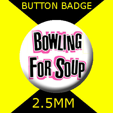BOWLING FOR SOUP  - LOGO -Button Badge 25mm # CD1