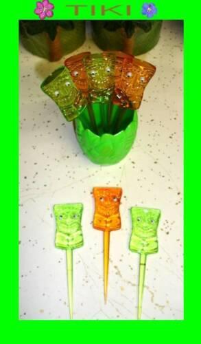 Zak FOOD PICKS Kon Tiki party decoration tropical theme luau bento fruit sushi