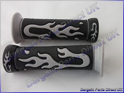 Flame Handle Hand Grip 7/8 inch 22mm for YAMAHA AEROX YQ 50