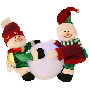 Cute-Snowmen-Rolling-A-Huge-Colour-Change-Light-Up-Snowball-Christmas-Decoration