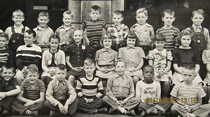 1948-Class-Photo-Garfield-School-Monmouth-IL-Grade-3