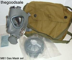 Brand-New-M61-Finnish-Military-Survival-Gas-Mask-60mm-Filter-with-Carry-Bag