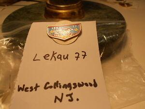 BOY-SCOUT-ORDER-OF-ARROW-PIN-LEKAU-LODGE-77-WEST-COLLINGSWOOD-NJ