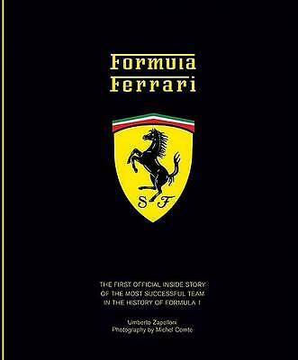 """AS NEW"" Zapelloni, Umberto, Formula Ferrari, Hardcover Book"
