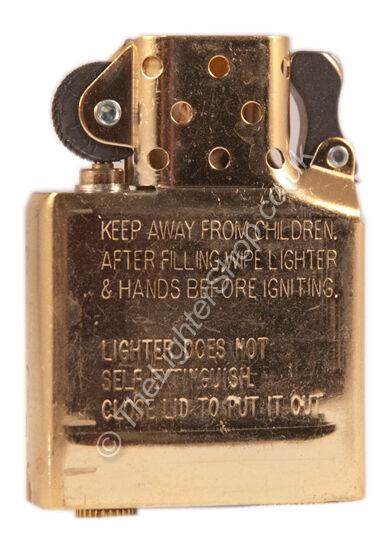 Replacement Brass Insert for Zippo Lighter - GENUINE **BRAND NEW**