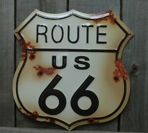 METAL-LARGE-RUSTIC-ROUTE-66-SIGN-TIN-SIGNS