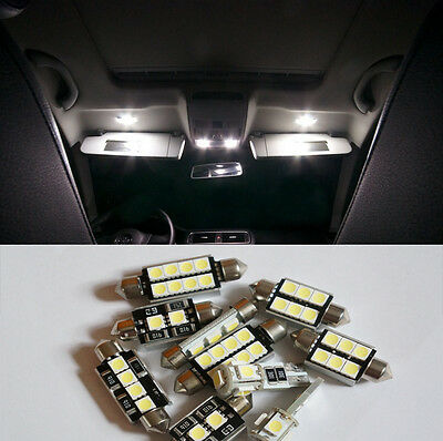 7 pcs White SMD LED Bulb Canbus Interior Light Kit for Hyundai IX 35 2010-2013