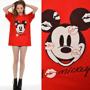 Vtg 90s mickey mouse oversized disney slouchy t shirt for Oversized disney t shirts