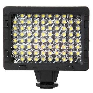 5500k CN-76 76pcs LED Video Light Lamp For Canon Nikon Camera DV Camcorder