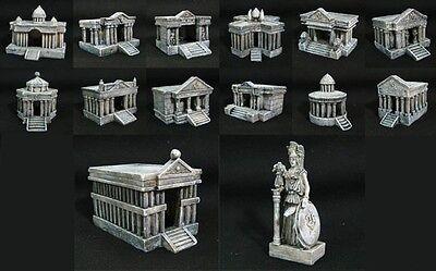 Saint Seiya Diorama Decoration Scene 12 Temples/Hall & Grand Pope & Athena SC29