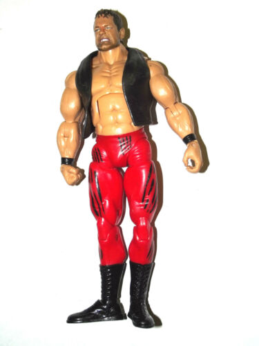 COLLECTION OF WWE ACTION FIGURES WRESTLING LOT THE ROCK HHH CENA