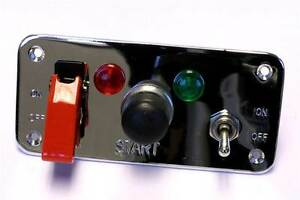Grayston-Competition-Starter-Panel-with-Push-Button-2-Lights-2-Switches