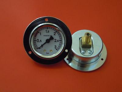 MANOMETRO FAEMA Diametro 54-71mm  0/3 BAR FILETTO 1/8 *