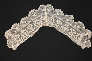 ANTIQUE-VICTORIAN-EDWARDIAN-PERIOD-LACE-COLLAR-26-INCH