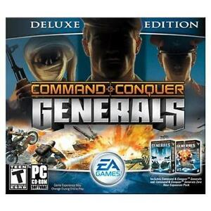 Command Conquer Generals Deluxe Edition PC 2003