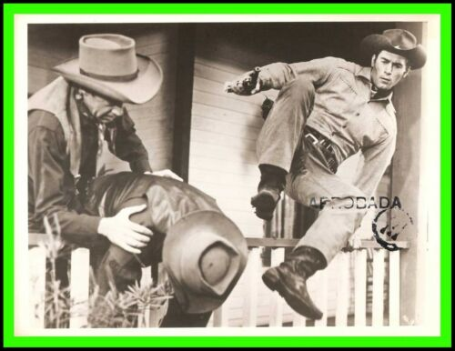 "CLINT WALKER in ""Cheyenne"" Original ABC TV Photo 1956 - ""Rendezvous at Red Rock"""