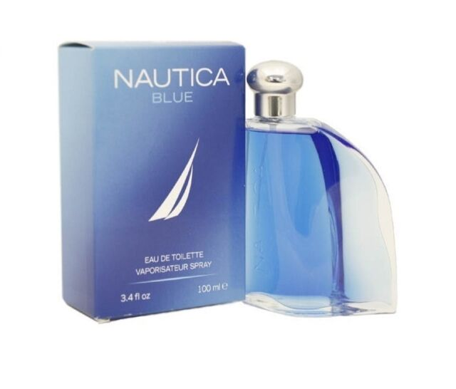 NAUTICA BLUE COLOGNE MEN 3.4 OZ EDT SPRAY BRAND NEW IN BOX SEALED