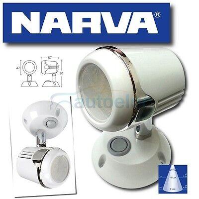NARVA 87644 LED INTERIOR READING LIGHT LAMP 12V 12 VOLT NEW L.E.D CARAVAN BOAT